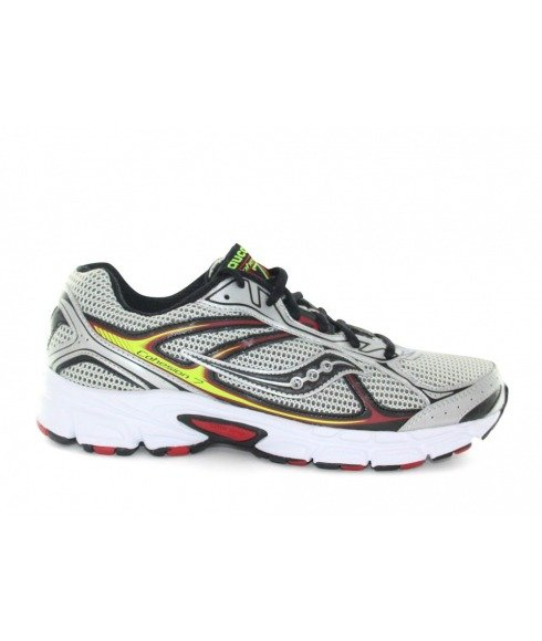 Pas cher Chaussures Running Saucony Cohesion 7 Gris Hommes