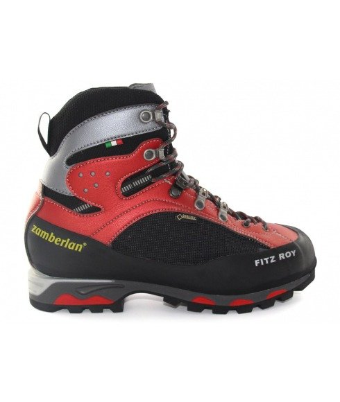 Pas cher Chaussures Marche Zamberlan 2050 Fitz Roy Gtx R Rouge Hommes