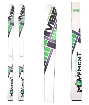 Movement Freeride Ski Vibe Ohne Bindungen Weiss Unisex