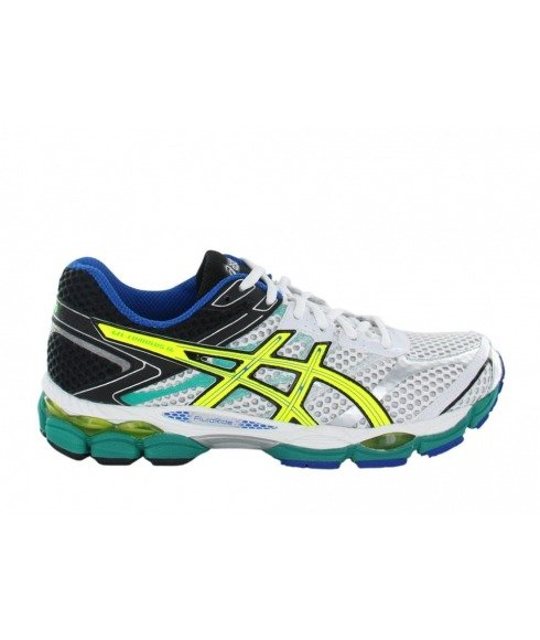 chaussures running asics gel cumulus 16 blanc hommes pas. Black Bedroom Furniture Sets. Home Design Ideas