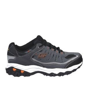 Pas cher Chaussures Loisirs Skechers After Burn Gris Hommes