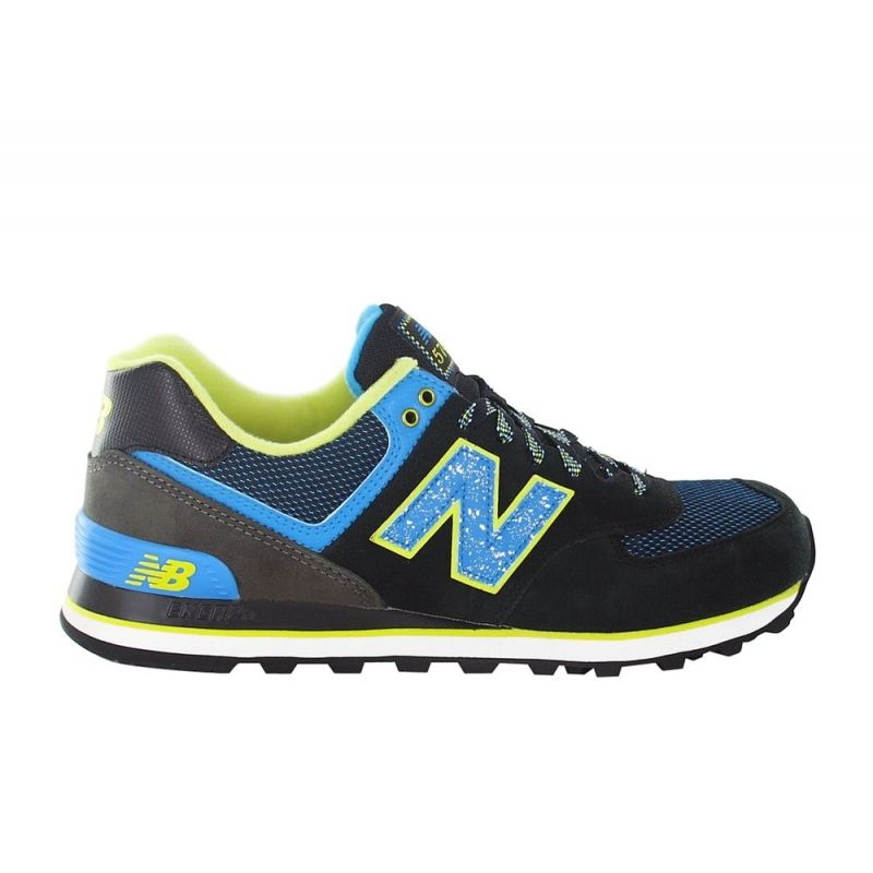 chaussures loisirs new balance 574 noir mixtes pas cher crazypri. Black Bedroom Furniture Sets. Home Design Ideas