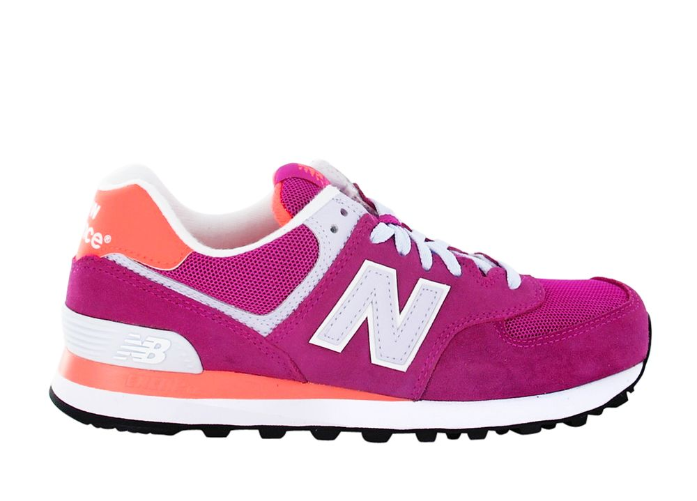 chaussures loisirs new balance 574 rose femmes pas cher crazypri. Black Bedroom Furniture Sets. Home Design Ideas