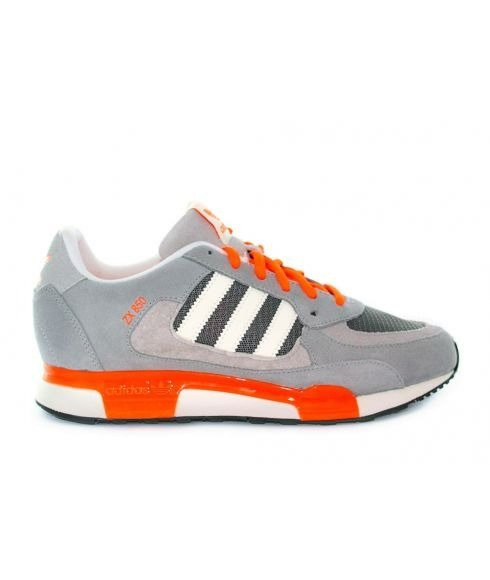 Pas cher Chaussures Loisirs Adidas Zx850 Gris Hommes