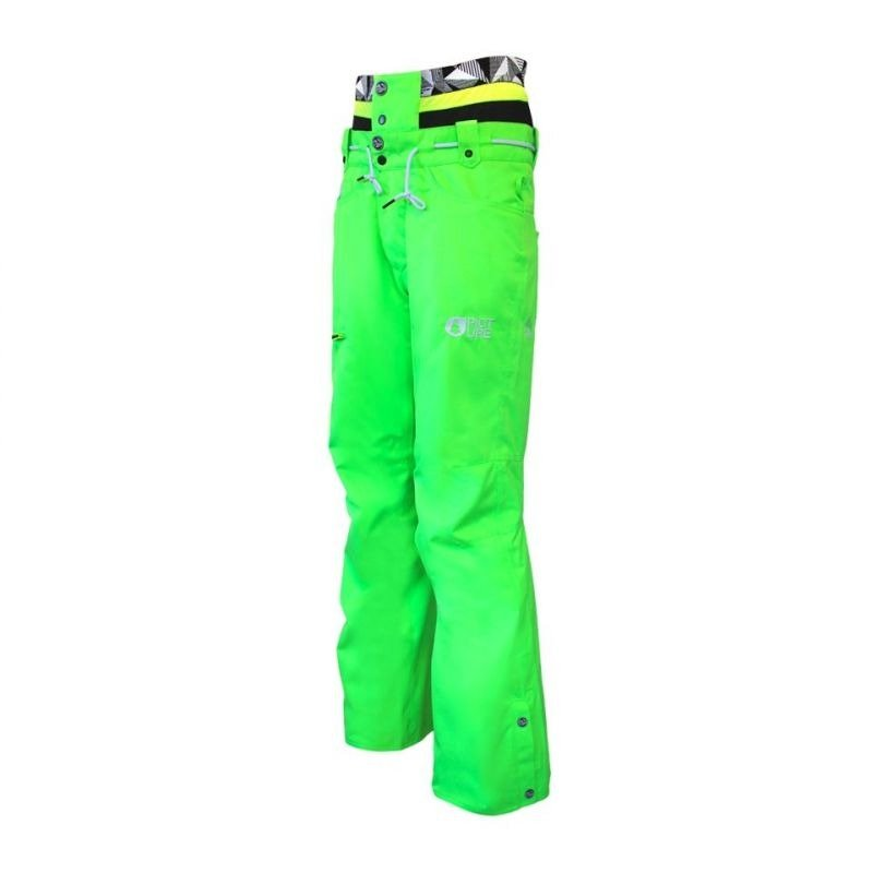 pantalon ski picture under fluo vert hommes pas cher. Black Bedroom Furniture Sets. Home Design Ideas