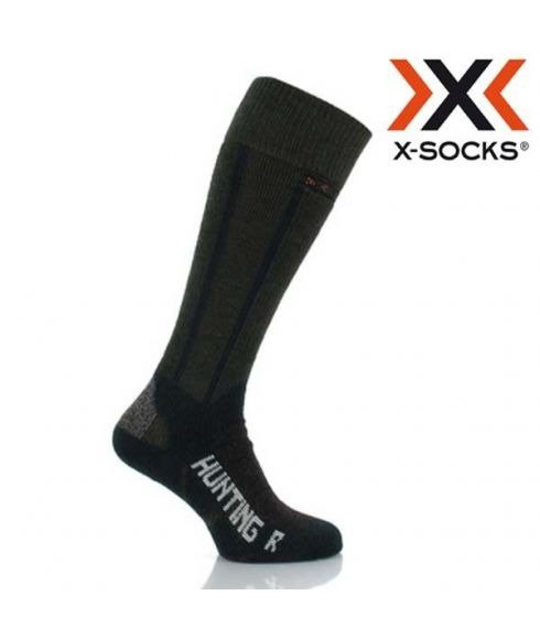 """Chaussettes de chasse X-SOCKS """"Hunting Long Green"""""""