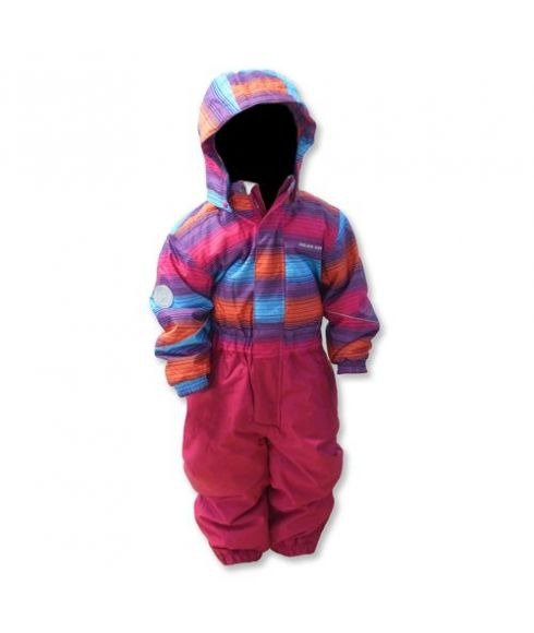 Color Kids Wombat Coverall Bright Pink