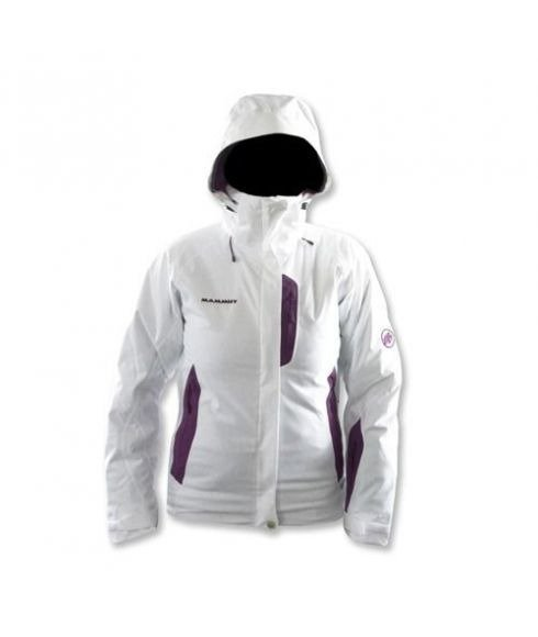 MAMMUT CATERINA JACKET WOMEN - WHITE