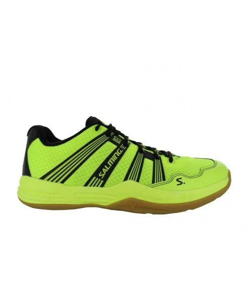 Pas cher Chaussures Salle Salming Race R1 2.0 Jaune Hommes