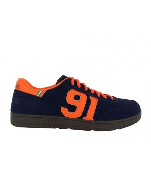 Pas cher Chaussures Salle Salming Ninety One Bleu Hommes