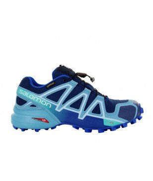 Schuhe Salomon Speedcross 4 GTX Blau Damen