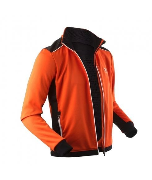 Pas cher Pull X-Bionic Ski Transmission Layer Adv Orange Hommes