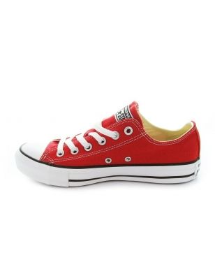 Pas cher Chaussures Loisirs Converse OX Rouge Mixtes