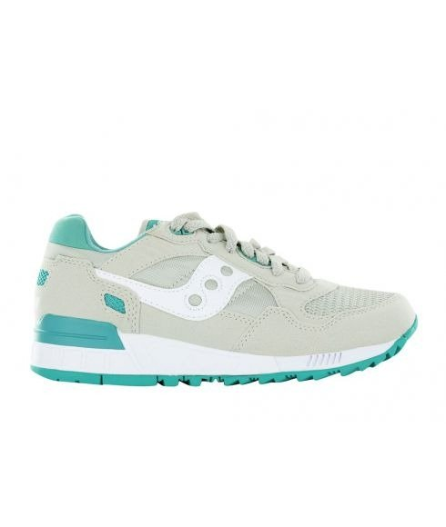 Pas cher Chaussures Loisirs Saucony Shadow 5000 Gris Femmes