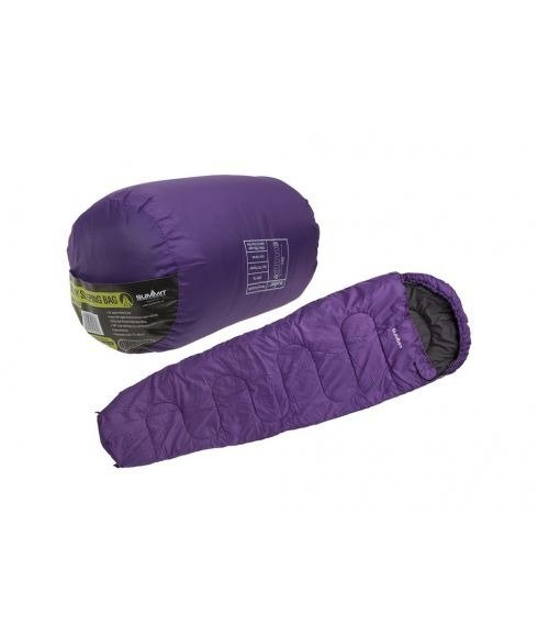 Pas cher Sac de Couchage Summit Mummy Therma Violet Mixtes