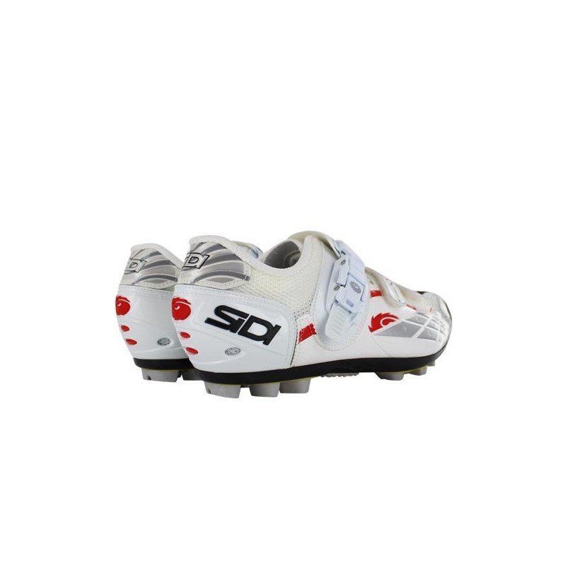 chaussures de v lo sidi mtb spider srs blanc. Black Bedroom Furniture Sets. Home Design Ideas