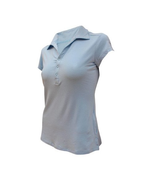 Polo Columbia Pacific TM Blau Dame