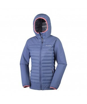 Veste Columbia Dutch Hollow Hybrid Bleu Femme