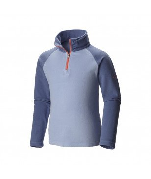 Columbia Glacial Fleece Pulli Half Zip Violett Kinder