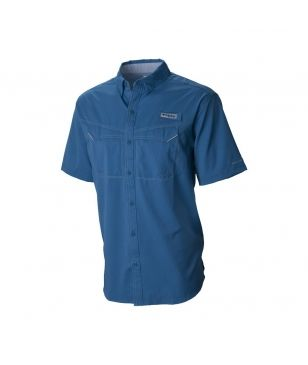 Columbia Chemise Low Drag Offshore SS Bleu Homme
