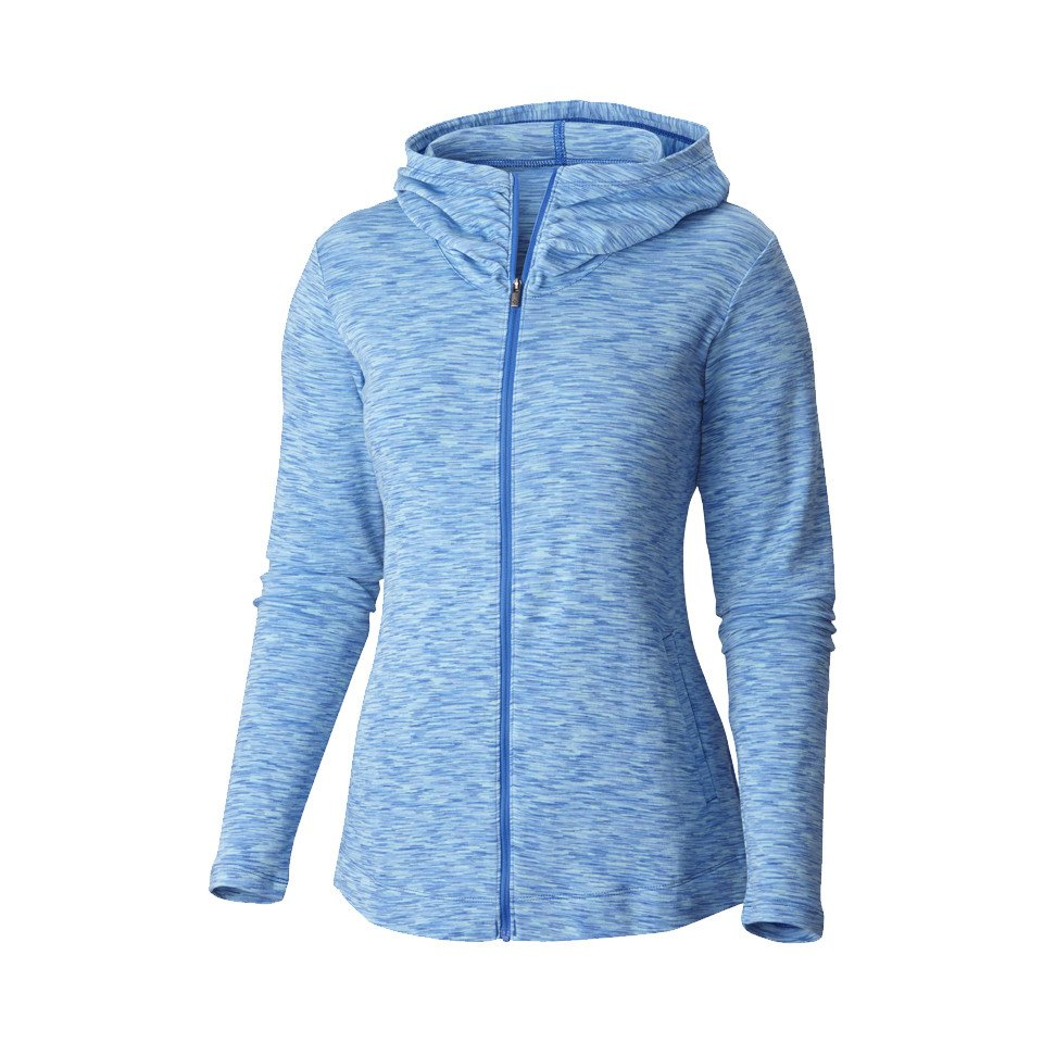 pull columbia outerspaced full zip hoodie bleu femmes pas cher cr. Black Bedroom Furniture Sets. Home Design Ideas