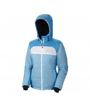 Columbia Doudoune Shimmer Flash Jacket Bleu Femme