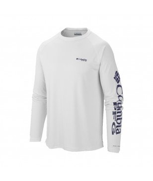 Columbia Pull Terminal Tackle LS Blanc Hommes