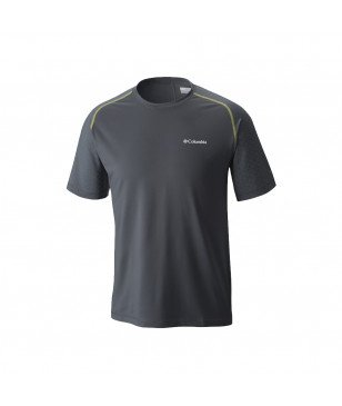 Columbia T-Shirt Trail Flash Gris Hommes