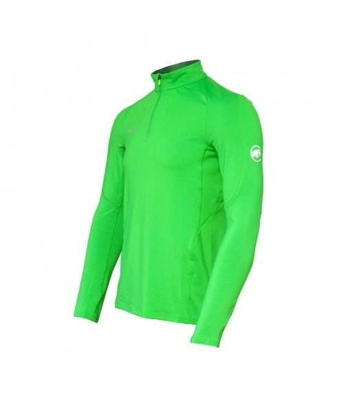 Pas cher Pull Mammut Mtr 141 Thermo Zip Vert Hommes