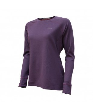 Columbia Sous-pull Heavyweight Violet Femmes