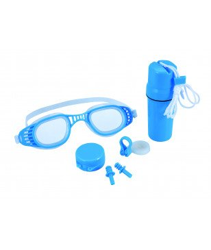 Set de Natation Bestway Hydro Swimm Protector Set 7 Bleu Enfants