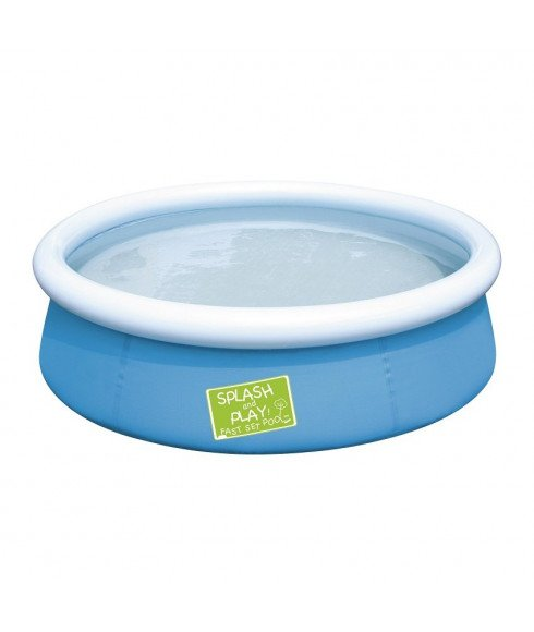 Piscine gonflable bestway my first fast set bleu enfants for Piscine gonflable rectangulaire pas cher