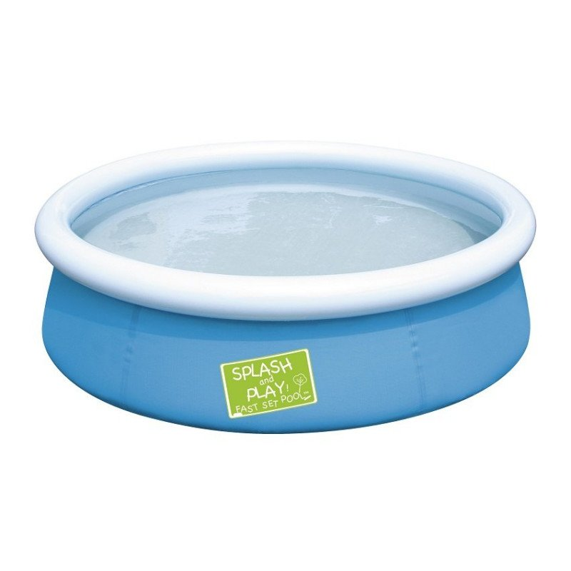 Piscine gonflable bestway my first fast set bleu enfants for Piscine gonflable bestway