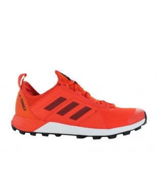 Chaussures Running Adidas Terrex Agravic Speed Rouge Hommes