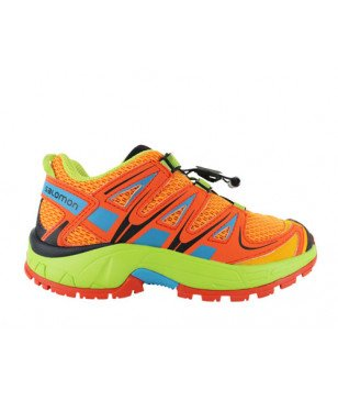 Chaussures Marche Salomon Xa Pro 3D Orange Enfants