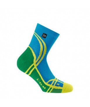 Rohner Socken High Tech Blau Herren
