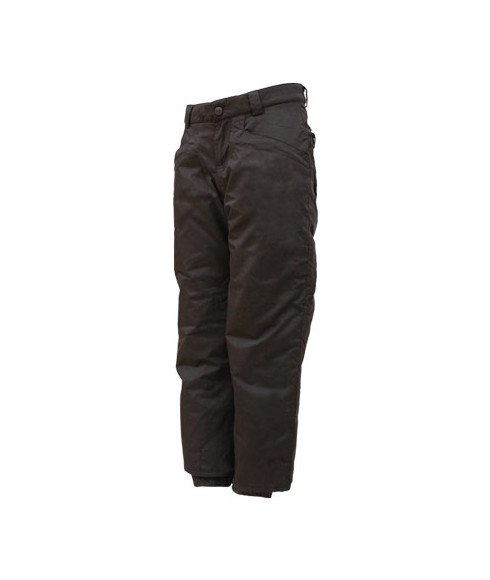 Pas cher Pantalon Ski Outdoor Gear Youth Boot Cut Noir Enfants