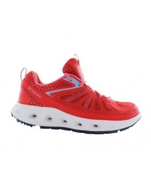 Chaussures Loisirs Columbia Vent Master Rouge Femmes