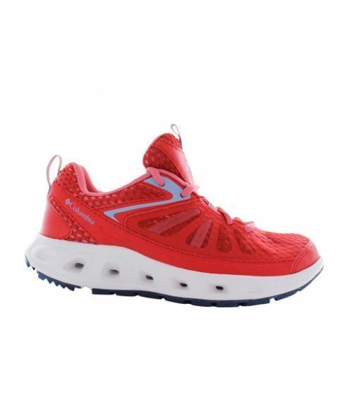 Pas cher Chaussures Loisirs Columbia Vent Master Rouge Femmes