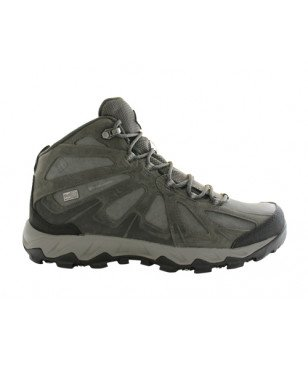 Chaussures Marche Columbia Lincoln Pass Mid LTR Outdry Gris Hommes