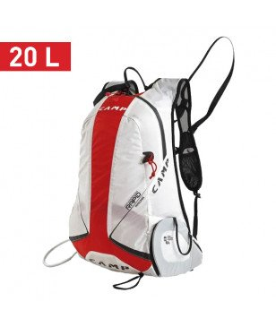 Sac à Dos Camp Rapid Racing 20L Blanc Mixtes