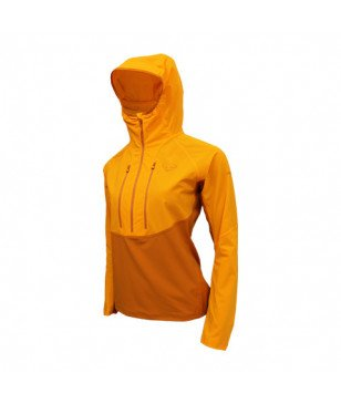 Pull Dynafit Traverse Dst 1/2 Zip Orange Femmes