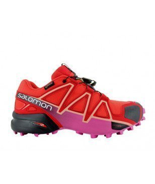 Salomon Trail-Schuhe Speedcross 4 GTX Rot Damen