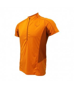 T-Shirt Dynafit React 2 Orange Hommes