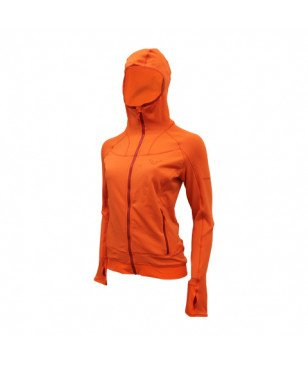 Pull Dynafit Thermal Hoody Fluela Orange Femmes