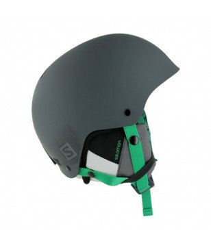 Casque Ski Salomon Brigade Audio Gris Mixtes