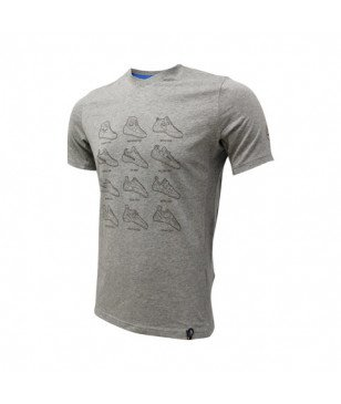T-Shirt Sport Sportiva Heritage Gris Hommes
