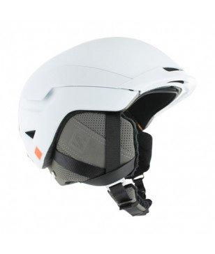 Casque Ski Salomon Quest Blanc Mixtes