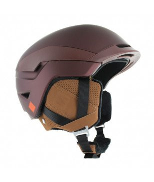 Casque Ski Salomon Quest Bordeaux Mixtes