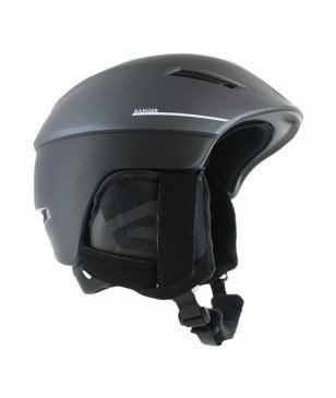 Casque Ski Salomon Ranger 2 C.Air Noir Mixtes